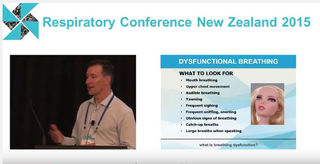 Breathing retraining at the NZ Respiratory Conference 2015
