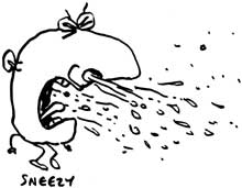 Allergy cartoon