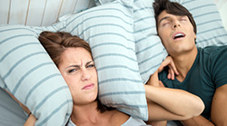 Loud snoring, sleep apnoea linked to cancer risk